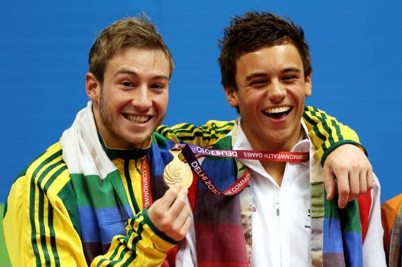 Tom Daley Matthew Mitcham