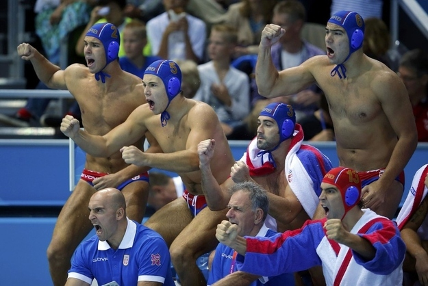 Serbia Water Polo Team
