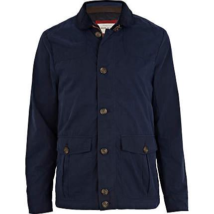 river island mens coat